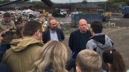 На мусороперегрузочной станции вблизи аэропорта Жуковский выявлены нарушения