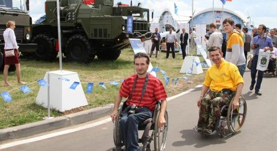 Жители Подмосковья ограниченными возможностями бесплатно посетят МАКС-2019