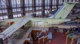 В ЦАГИ завершилась сборка второго опытного самолета Ил-112В