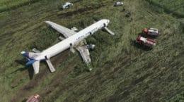 Представитель аэропорта «Жуковский» отказался отвечать на вопрос о птицах, попавших в двигатель самолета