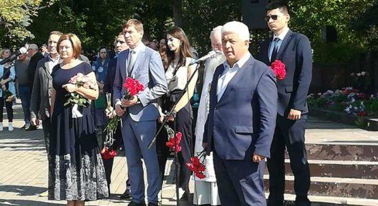 В Жуковском прошел памятный митинг, посвященный Дню солидарности в борьбе с терроризмом
