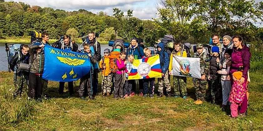 Воспитанники Центра детского творчества совершили двухдневный поход