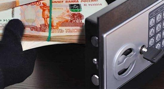 В Жуковском из магазина сотовой связи на улице Гагарина вынесли сейф с деньгами