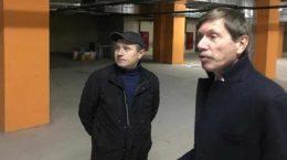 Депутат Игорь Марков встретился с жильцами жилого комплекса Лацкова, 1