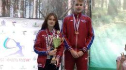 Жуковчанка стала трехкратным призером бадминтонного первенства России по спорту глухих