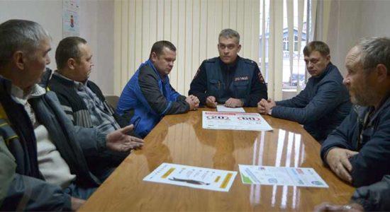 Для водителей автопарка в Жуковском госавтоинспекторы провели правовой ликбез