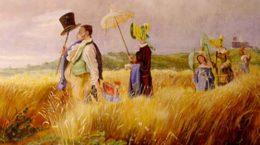 В галерее «5 Дом» в Жуковском открылась выставка картин в стиле бидермейера