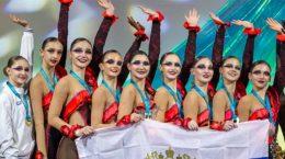 Юные гимнастки из Жуковского завоевали 1 и 2 места на 3-ем этапе Кубка мира в Таллине