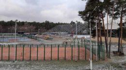 На территории спорткомплекса «Метеор» в Жуковском началось строительство крытого катка