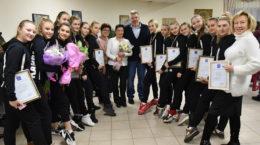 Жуковских спортсменов наградили благодарностями главы города