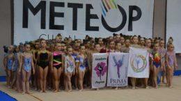 В Жуковском впервые состоялось первенство по эстетической гимнастике