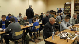 В клубе «Двойной шах» подвели итоги уходящего года турниром по быстрым шахматам