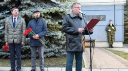 В Жуковском состоялось открытие мемориальных досок погибшим спасателям МЧС России