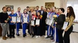 В Жуковском прошла церемония награждения лучших спортсменов и тренеров по итогам 2019 года
