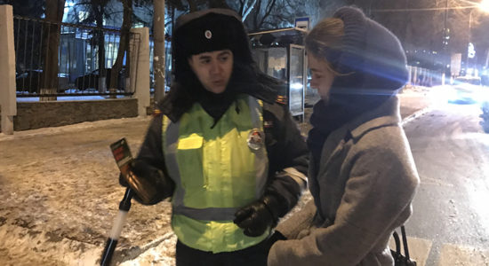 В Жуковском в вечерние часы проводятся специализированные рейды «Пешеходный переход»