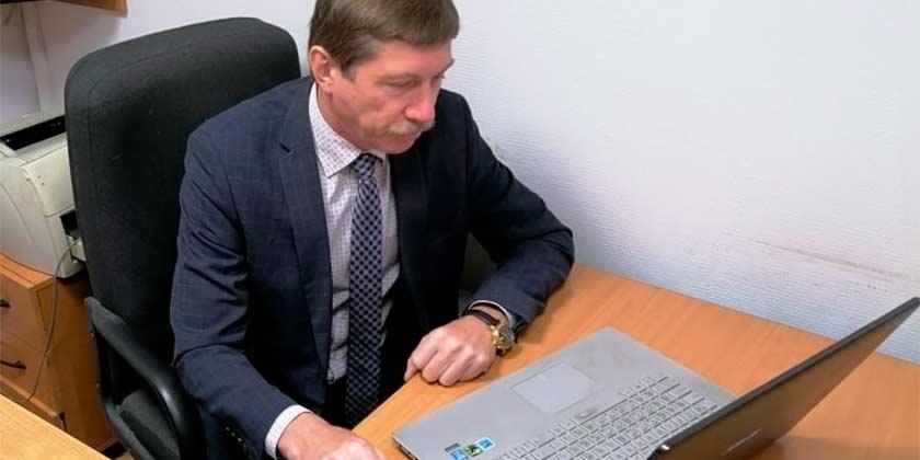Игорь Марков в режиме видеоконференции напомнил предпринимателям о сроке подачи заявки на получение субсидии
