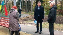 Жуковские единороссы взяли на контроль благоустройство придомовой территории на улице Туполева