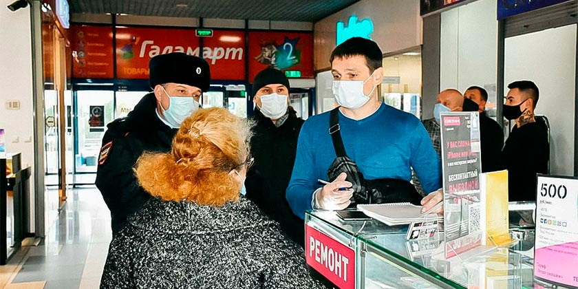 В Жуковском проверили торговые центры, крупные магазины и розничные рынки