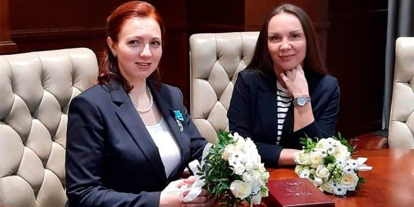 Две жительницы Жуковского удостоены знака «Материнская слава»