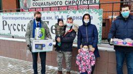Жуковские единороссы поздравили детей-инвалидов в Доме Милосердия фонда «Русская Берёза»