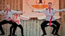 Ансамбль народного танца «Юность» представил новогодний концерт