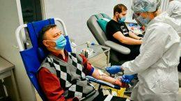 В Жуковском прошла очередная акция по забору донорской крови