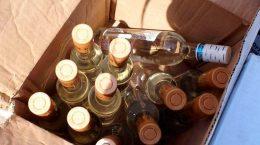 В Жуковском пресечен незаконный оборот более 250 литров алкогольной продукции