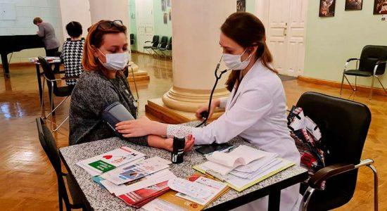 В Жуковском стартовал медицинский осмотр работников муниципальных учреждений города