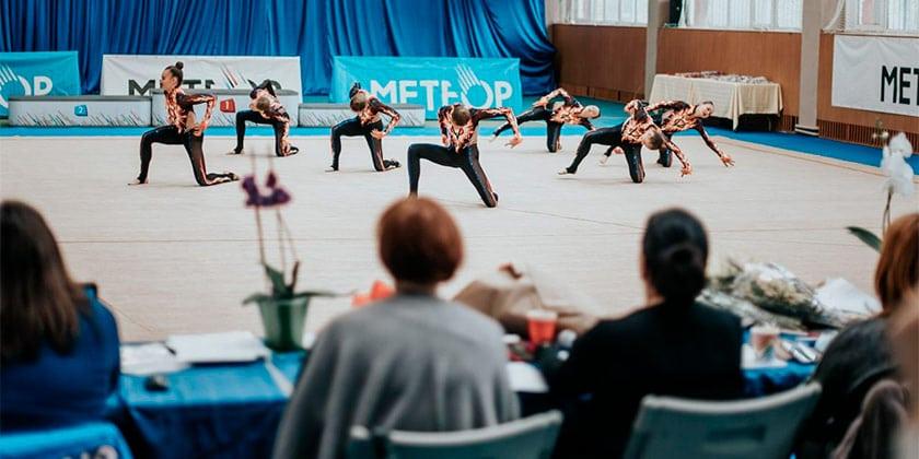 """В детско-юношеской школе """"Метеор"""" состоялся городской турнир по художественной гимнастике"""