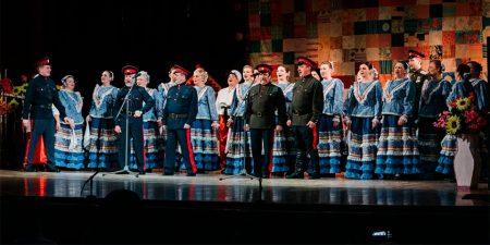 Состоялся театрализованный концерт «Казаки в Жуковском»