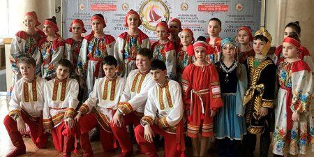 """Младшая группа """"Юности"""" стала дважды лауреатом 3-й степени Всероссийского хореографического конкурса"""