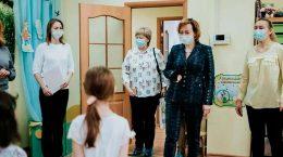 """Представители администрации посетили частный детский сад """"Совенок"""""""
