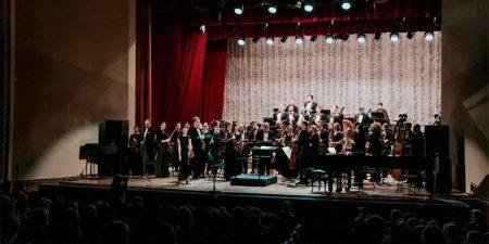Жуковский симфонический оркестр выступил с концертом «Ступени мастерства»