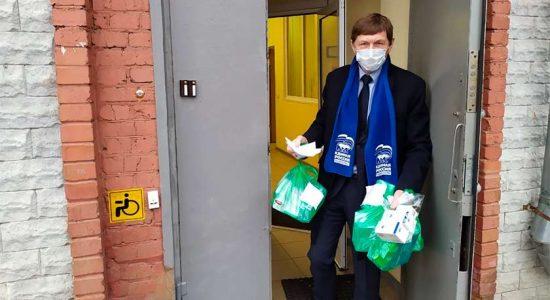 Волонтерский штаб в Жуковском подвел итоги работы за год