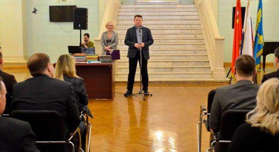 Юрий Прохоров вручил почетные грамоты и благодарности жуковским коммунальщикам