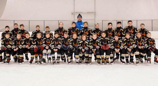 Хоккеисты из Жуковского завоевали золото на региональном этапе «Золотой шайбы»
