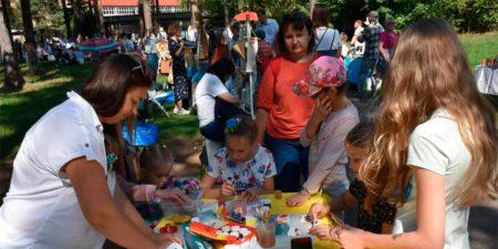 В городском парке состоялся Фестиваль локальной культуры «Small Talk Fest»