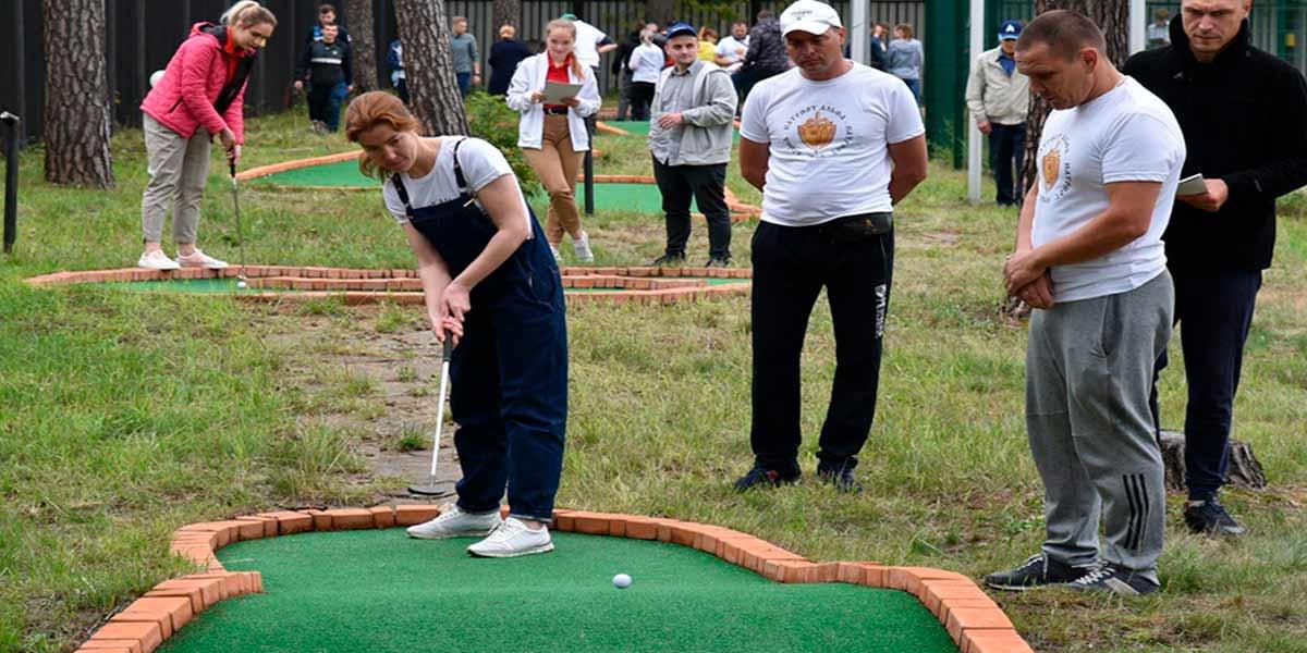 мини-гольф в Жуковском