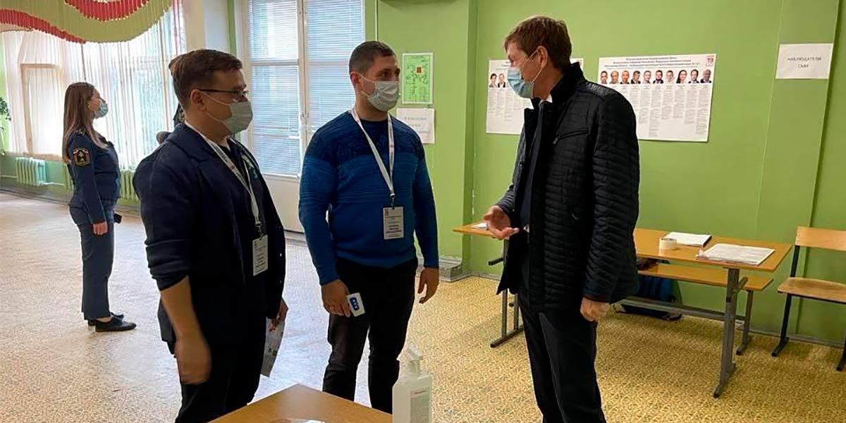 Выборы в Жуковском проходят в штатном режиме