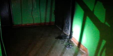В Жуковском задержан мужчина, подозреваемый в поджоге входной двери в квартиру