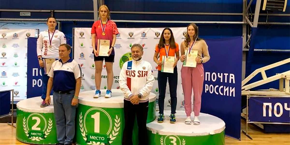 Спортсменка из Жуковского стала абсолютным победителем первенства России по бадминтону