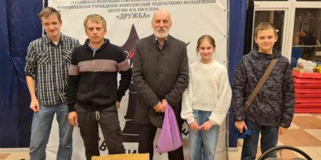 Все призовые места в турнире по быстрым шахматам достались спортсменам Раменского